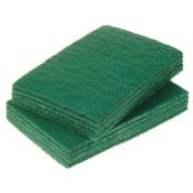 catering scourers green 9x6 Selcohygiene.co.uk