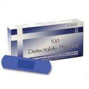 Detectable Blue Plasters