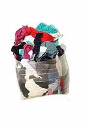 10kg bag of coloured cloths