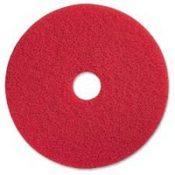 red floor pads