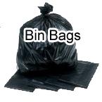 Black Strong Bin Bags Selco Hygiene