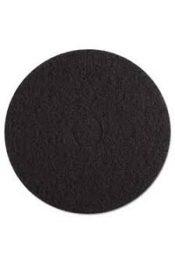 17 black floor stripping pads