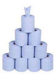 Best buy centrefeed rolls 10 blue