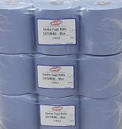Catex Centrefeed Blue Rolls 2-Ply Wiper